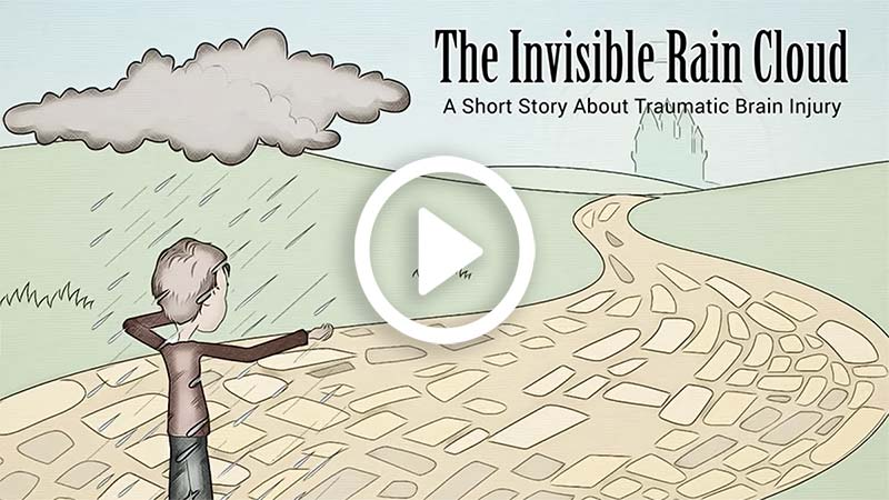click to play The Invisible Rain Cloud